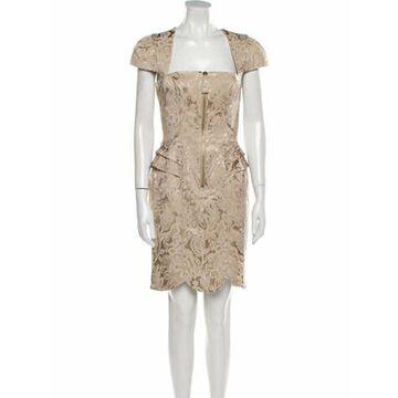 Lace Pattern Mini Dress w/ Tags
