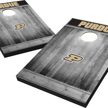Wild Sports Purdue Boilermakers NCAA Grey Wood Tailgate Toss