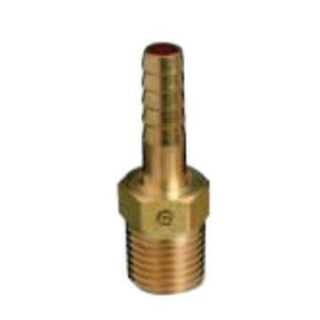 Brass Hose Adaptors, Female/Hose Barb, Brass, 5/16 In