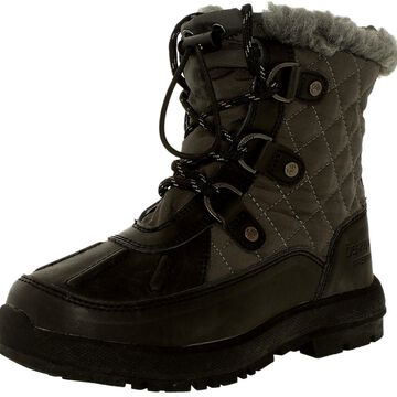Bearpaw Girl's Bethany Ankle-High Leather Boot