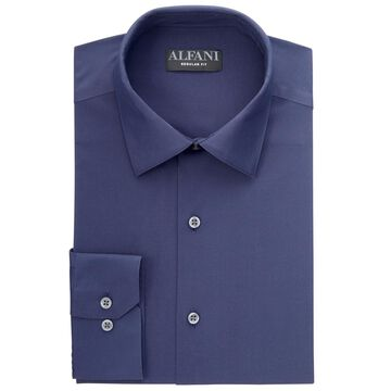 Alfani Men's Solid Dress Shirt, Created for Macy's