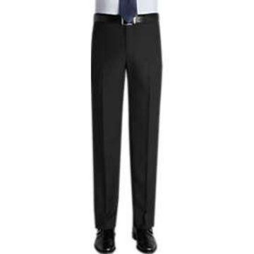 Pronto Uomo Black Slim Fit Casual Pants