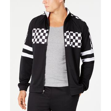 Men's Checkerboard Track Jacket, Created for Macy's