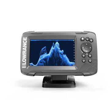 Lowrance Hook2-5 Fishfinder w/ LED-Backlit Color SolarMAX Display- 000-14281-001
