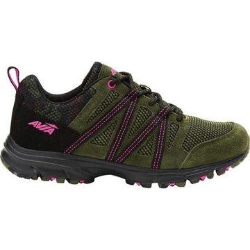 Avia Women's Avi-Vertex Running Sneaker Grape Leaf/Black/Pink