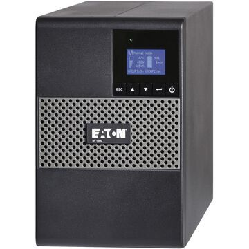 Eaton 5P Tower UPS - 1000 VA/770 W - 132 V AC - 5 Minute - Tower - 5 Minute - 8 x NEMA 5-15R