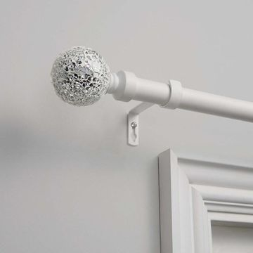 Exclusive Home Mosaic 1-in. Curtain Rod