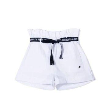 Alberta Ferretti High Waist Shorts