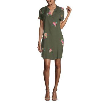 a.n.a Short Sleeve Shirt Dress
