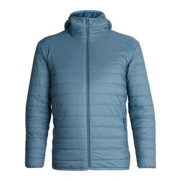 Icebreaker Men's Hyperia Hooded Jacket Granite Blue/Prussian Blue