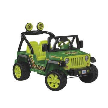 Power Wheels Teenage Mutant Ninja Turtles Jeep Wrangler by Fisher-Price