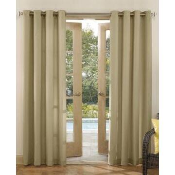 Sun Zero Sailor Indoor-Outdoor Room Darkening Grommet Curtain Panel, 54