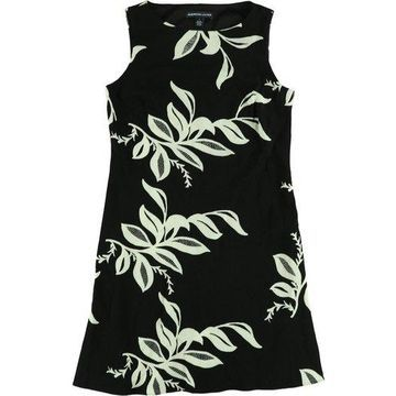 American Living Womens Printed Shift Dress