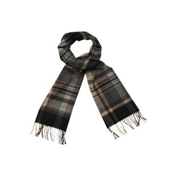 Stafford Neutral Plaid Scarf