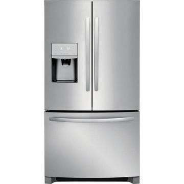 Frigidaire 26.8-cu ft French Door Refrigerator with Ice Maker (Stainless Steel Stainless Steel) ENERGY STAR