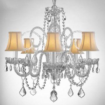 Gallery Murano 5-Light Chandelier