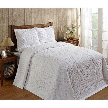 Better Trends Rio Cotton Chenille Bedspread