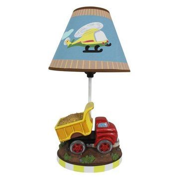 Teamson Boys Table Lamp, Transportation Room Collection
