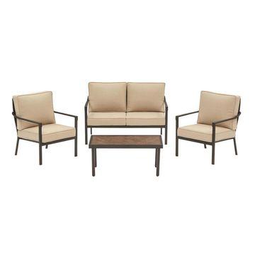allen + roth Northvale 4-pc Deep Seating Set