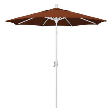 California Umbrella 7.5' Market Patio Umbrella, Terracotta