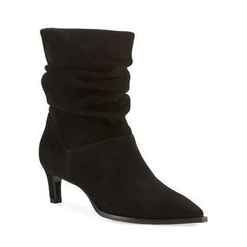Maddy Slouchy Suede Booties