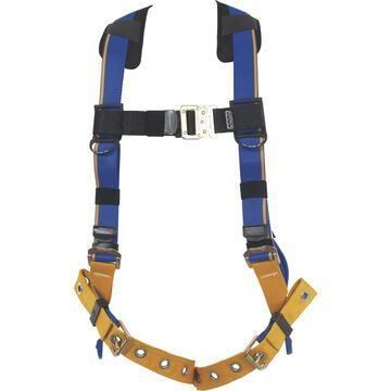 Werner Blue Armor 1-Ring Standard Safety Harness - Blue, Small, Model H112001
