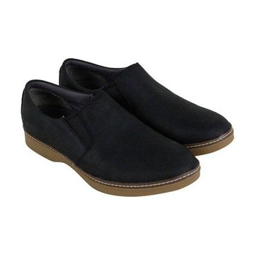 Ahnu Clay Black Mens Casual Dress Loafers