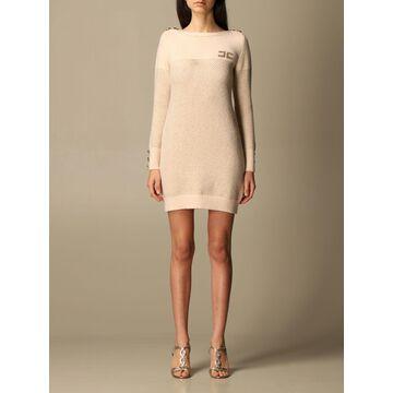 Elisabetta Franchi Short Knitted Dress