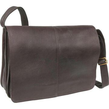 LeDonne Leather Quick Access Messenger Bag