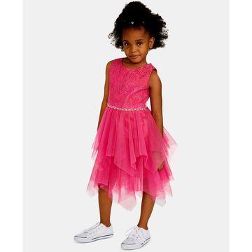 Toddler Girls Lace Fairy Hem Dress