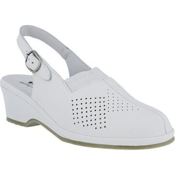 Spring Step Women's Gina White Leather