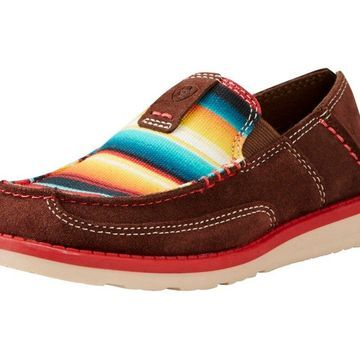 Ariat Casual Shoes Girl Cruiser Slip On Serape Brown 10019951