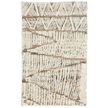 """Capel Nomad 675 Ivory 3'6"""" x 5'6"""" Area Rug"""