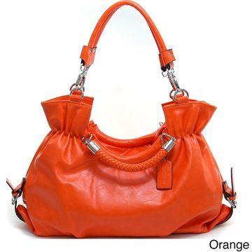 Dasein Women's Belted Convertible Shoulder Bag