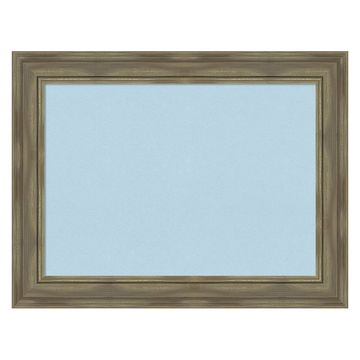 Amanti Art Alexandria Graywash Framed Cork Board