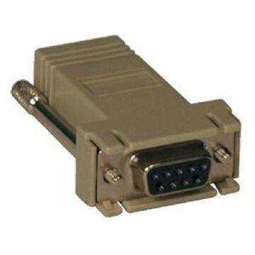 Tripp Lite B090-A9F Modular Serial Adapter - Straight Through DB9F -RJ