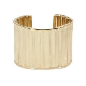 Robert Lee Morris Soho Textured Wide Cuff Bracelet