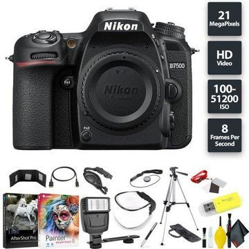 Nikon D7500 DSLR Camera (Body) Base Combo Intl Model