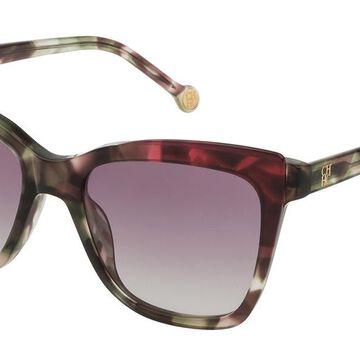 Carolina Herrera SHE791 05AH Men's Sunglasses Tortoise Size 54
