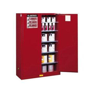 Justrite 60G Cabinet Man Red Safe Extension