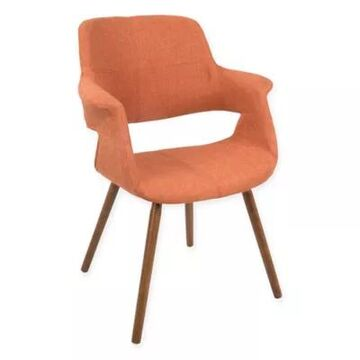 LumiSource Vintage Flair Dining Chair in Orange
