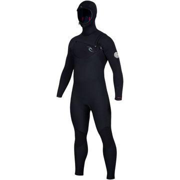 Rip Curl Dawn Patrol 5/4 Hooded Chest-Zip Wetsuit - Men's