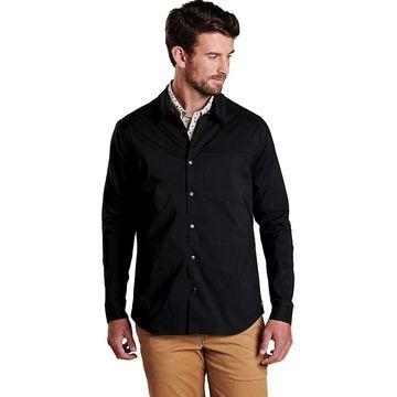 Toad & Co Men's Boundless Shirtjac - Medium - Black