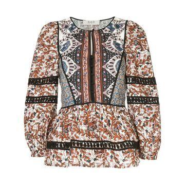 Gemma Kantha stitch top
