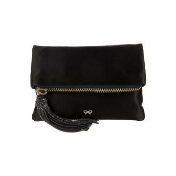 Stingray-Trimmed Huxley Clutch Black