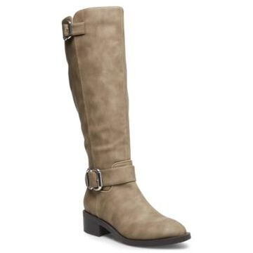 Madden Girl Wit Wide-Calf Riding Boots