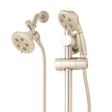Speakman Chelsea Brushed Nickel 3-Spray Dual Shower Head 2.5-GPM (9.5-LPM)