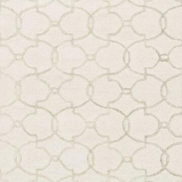 Loloi Rugs Panache Collection Ivory and Silver, 9'3