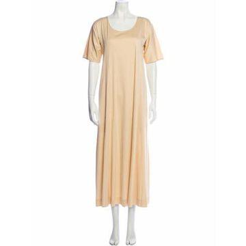 Scoop Neck Long Dress