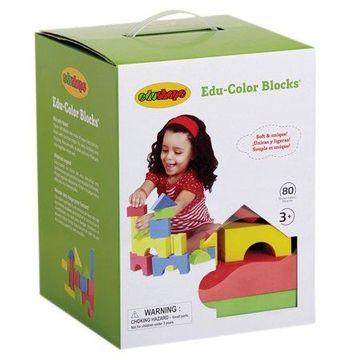 Edushape Edu-Color Clocks, 80 Pieces